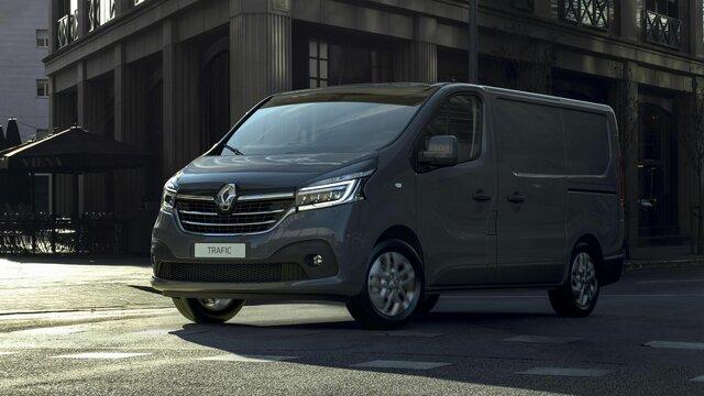 Renault Pro+ Sonderangebot für Holzverkleidung und Teilverglasung