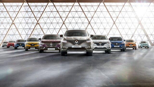 Die Renault Modellpalette – Neuer Renault KOLEOS