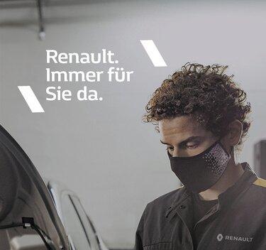 Renault. Immer für Sie da.