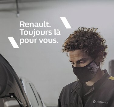 Renault. Toujours là pour vous.