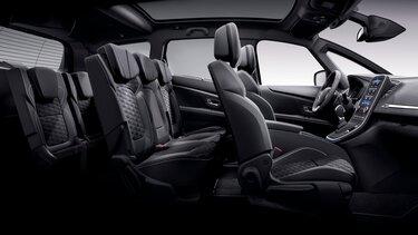 Renault Grand SCENIC Black Edition 3D – Habitacle
