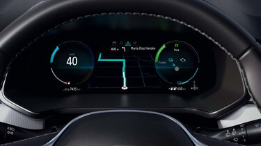 Renault CAPTUR E-TECH – Écran conducteur 10,2pouces