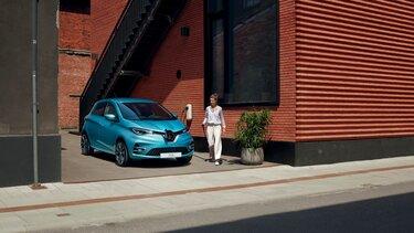 Renault ZOE Steckdose zu Hause