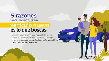 5 razones para un vehículo nuevo