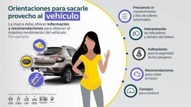 Orientaciones para sacarle provecho al vehículo