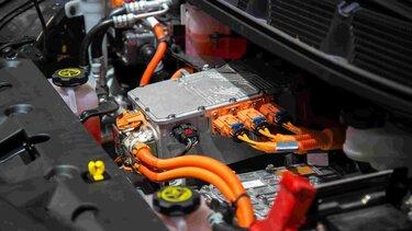 Motor de vehículo eléctrico