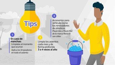 Tips para deshacerse de las manchas