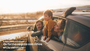Tips para conducir de forma segura con niños en tu vehículo