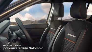 Viajar por carretera en Colombia
