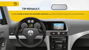 Renault Colombia- tips - combustible