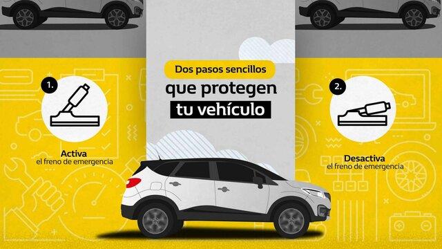 Renault Colombia- tips - freno de mano
