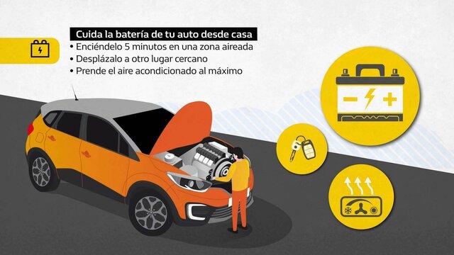 Renault Colombia- tips - batería