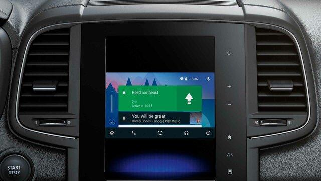 Android Auto™ para Media Evolution*