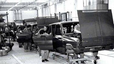 Historia Renault - decada 60
