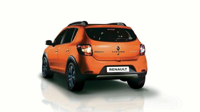 Parte posterior de Renault STEPWAY naranja