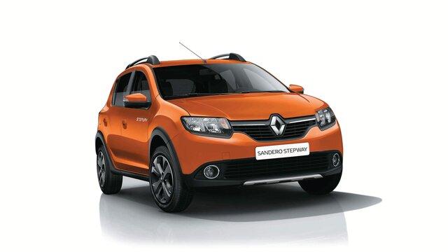 Frente de Renault STEPWAY naranja