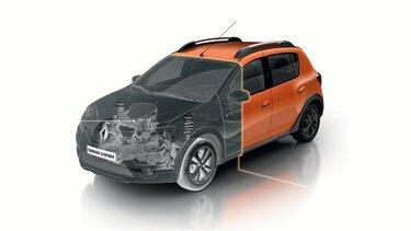 Capó de Renault STEPWAY naranja