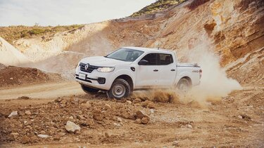 Renault ALASKAN - versatilidad