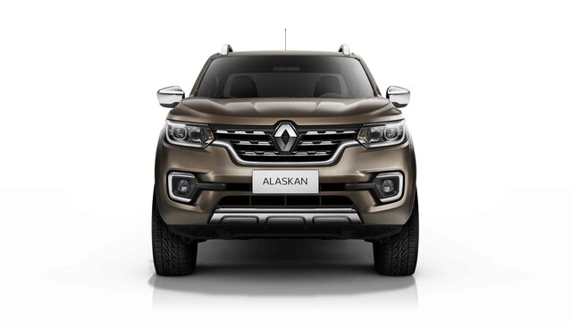 Renault ALASKAN Impresionante parrilla