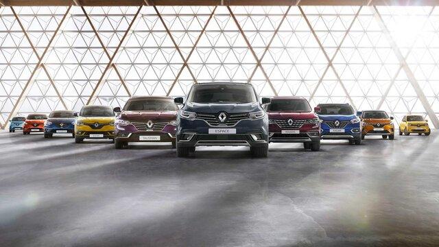 Gama de vehículos Renault