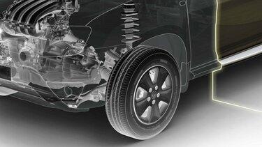 Renault Duster OROCH - Suspensión Multilink