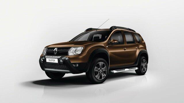 Renault DUSTER - Parrilla con efecto cromado
