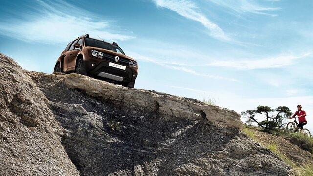 Renault DUSTER - Vista frontal exterior