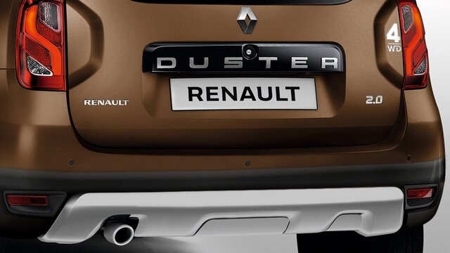 Renault DUSTER - Parte trasera