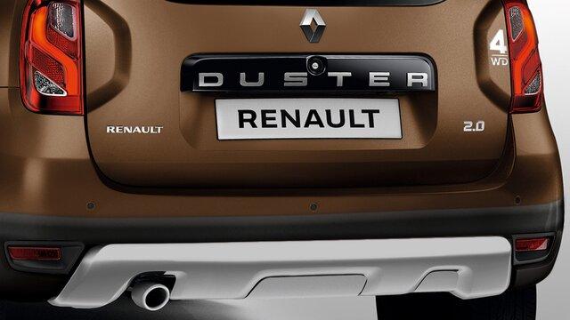 Renault DUSTER - placa