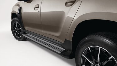 Duster - Estribo plataforma  aluminio