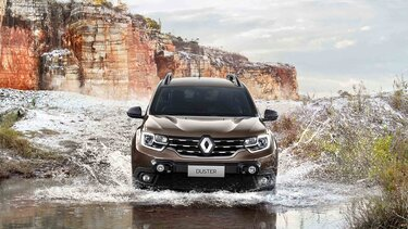 Renault DUSTER - Vista frontal exterior