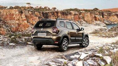 Renault DUSTER - exterior trasero