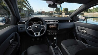 Renault DUSTER - interior conductor