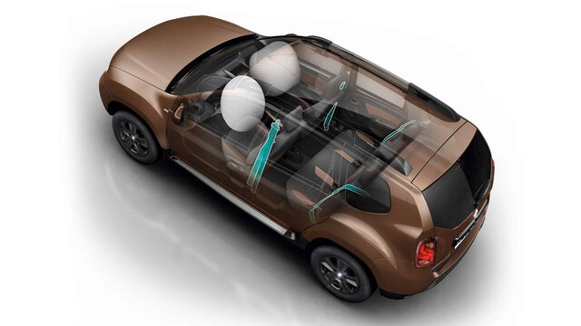 Renault DUSTER - Airbags