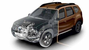 Renault DUSTER - Motores