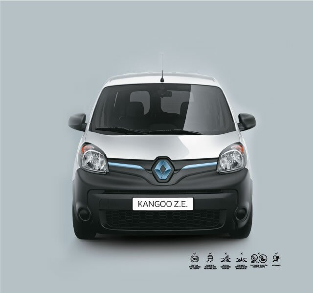 Frente Renault KANGOO Z.E.