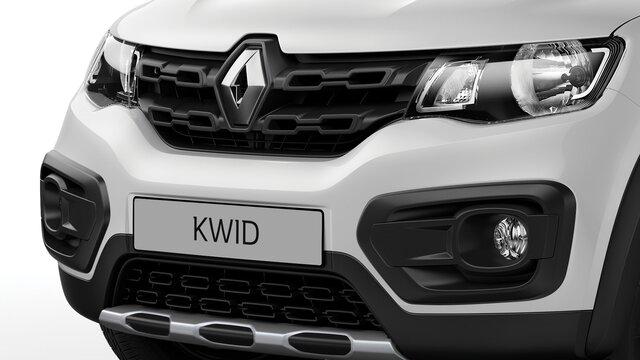 Renault KWID parrilla frontal