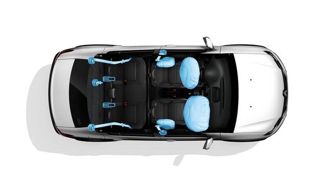 Renault Logan - airbags
