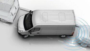 Renault MASTER - sensor de reversa