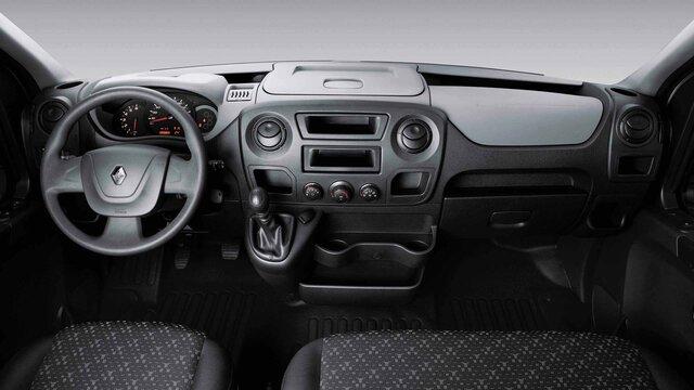 Renault Master - interior frontal