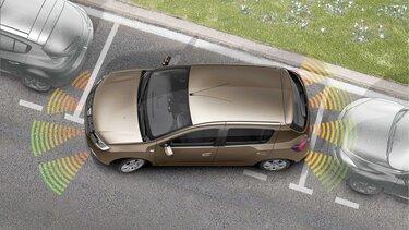 Sandero - Accesorios  Sensor de parqueo