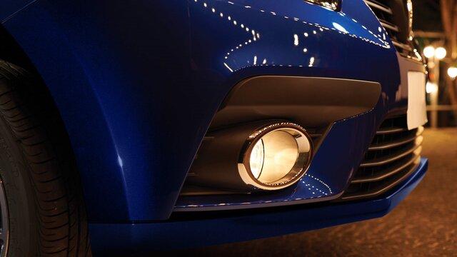 Renault SANDERO - Perfil frontal derecho 3/4
