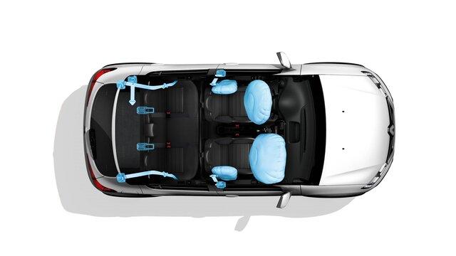 Renault Sandero - seguridad
