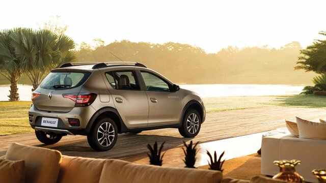 Renault Stepway - lateral trasero