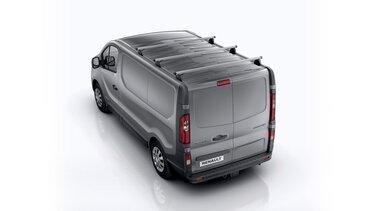 Renault TRAFIC - barras aluminio
