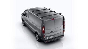 Renault TRAFIC - barras de acero