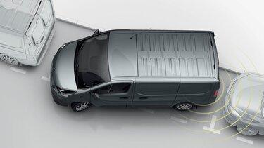 Renault TRAFIC - sensor reversa