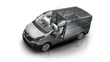 Renault TRAFIC engine dimensions
