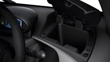 Renault Twizy - almacenamiento