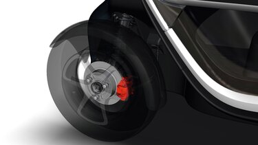 Renault Twizy - frenos
